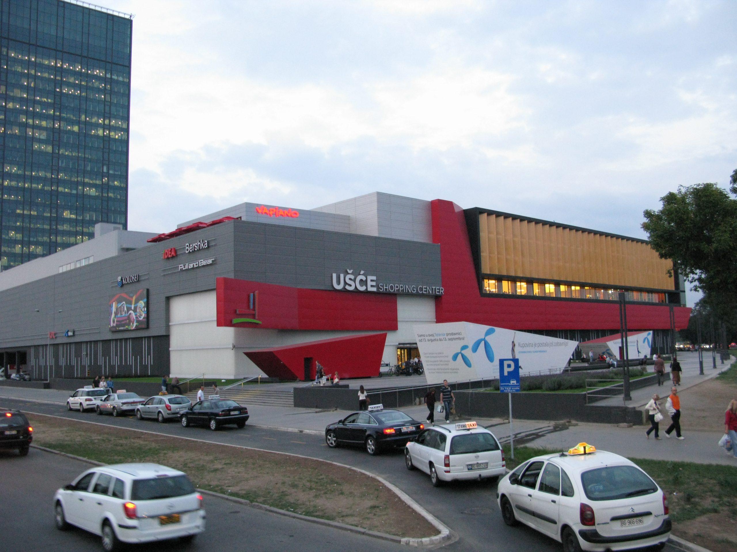 Ušće_shopping_center