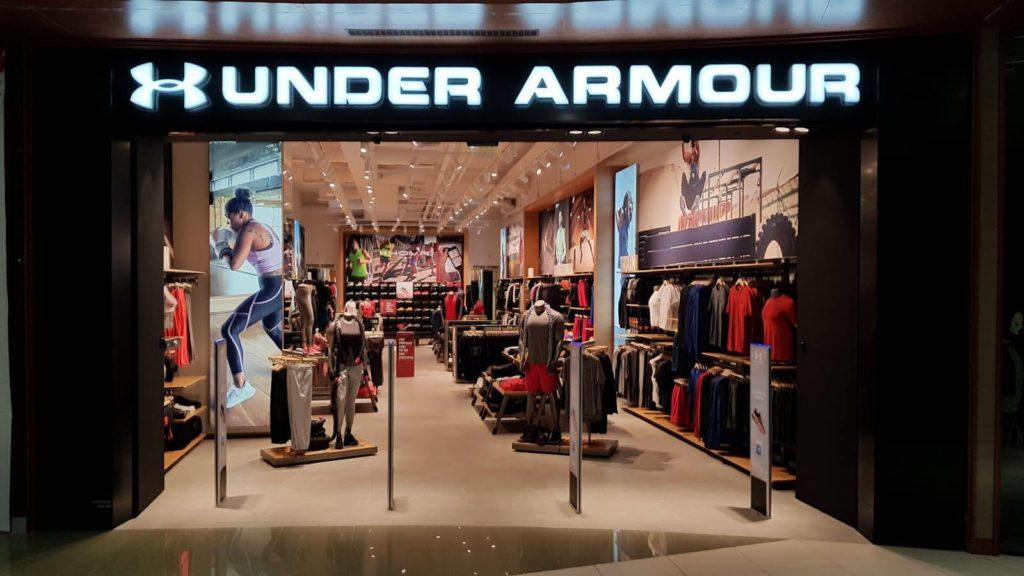 under armour retailers
