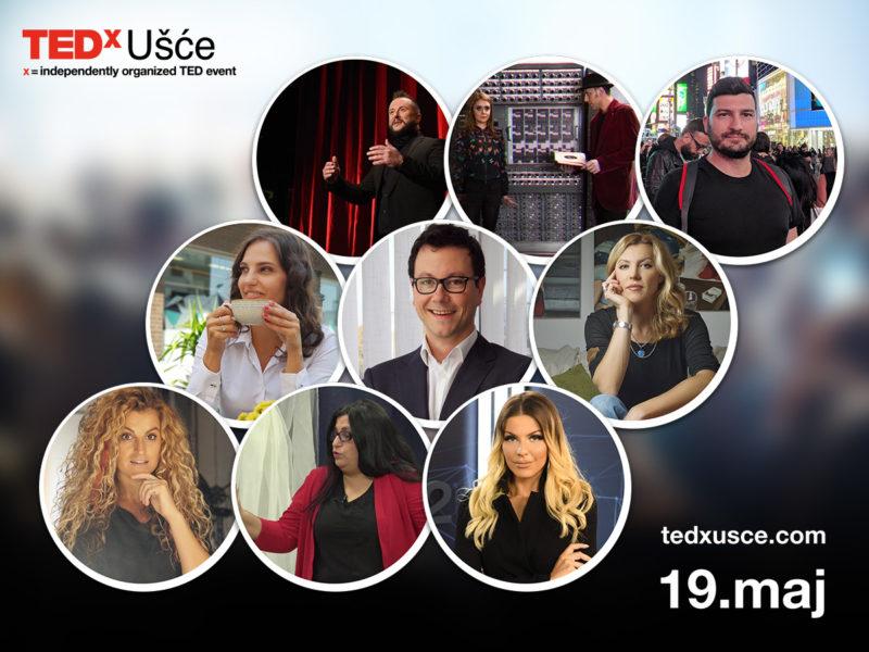TEDxUsce govornici