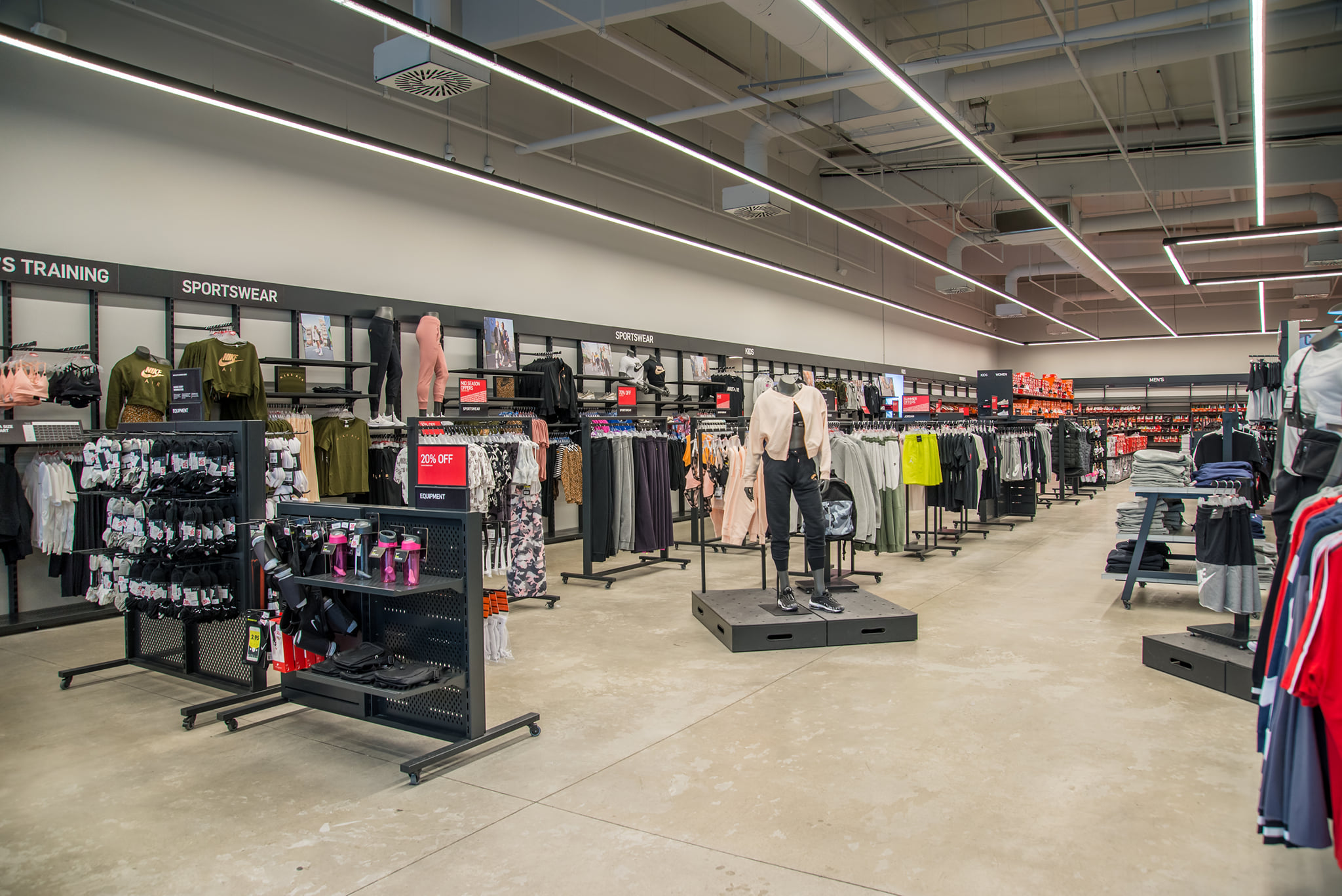 Nike Outlet retail see group
