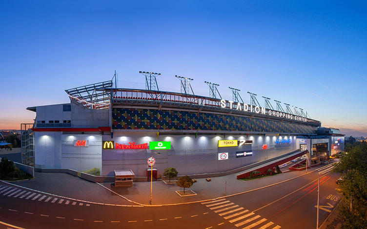 Stadion Shopping Center cover