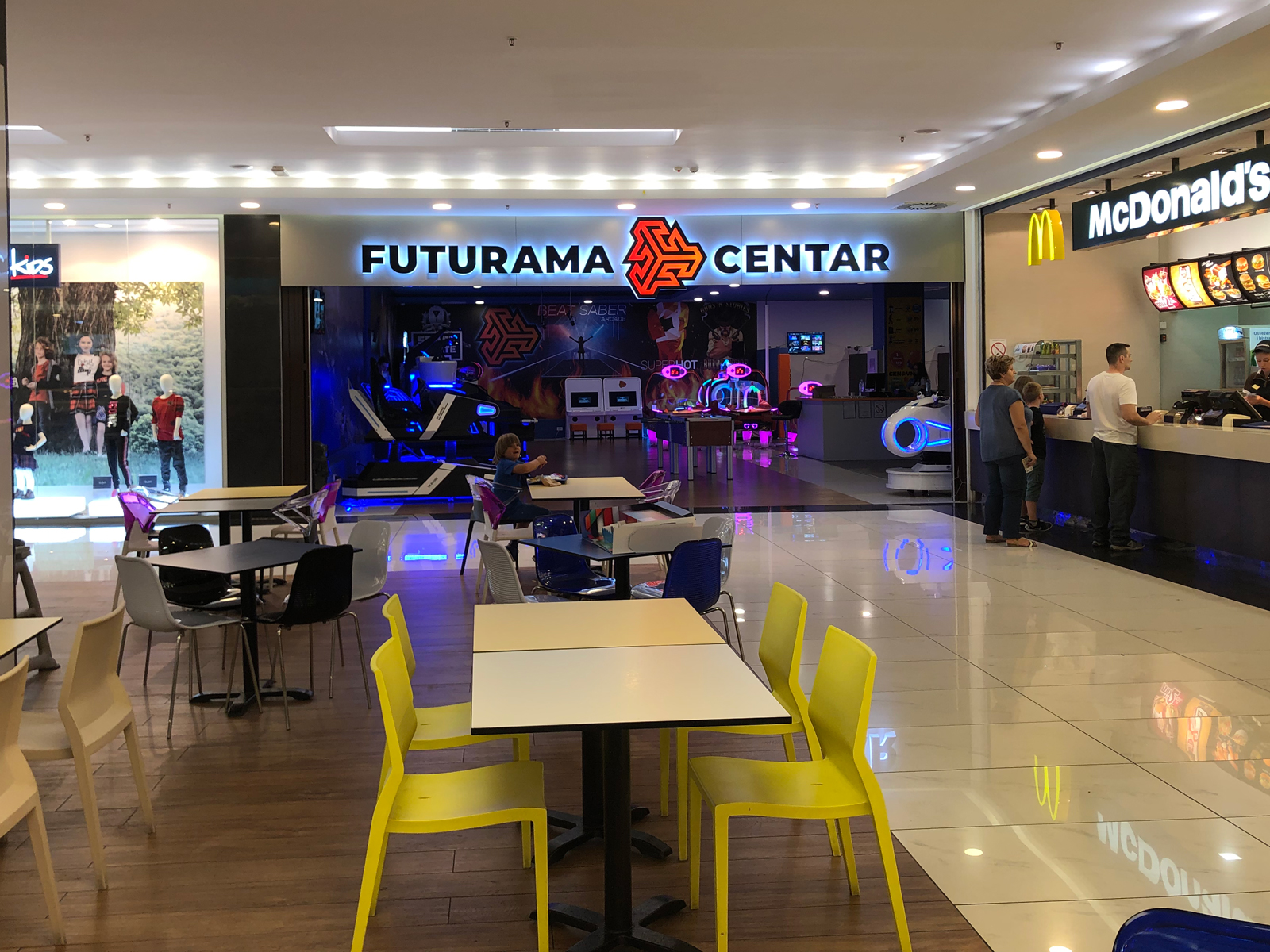 FUTURAMA GAMING CENTER STADION SHOPPING CENTER